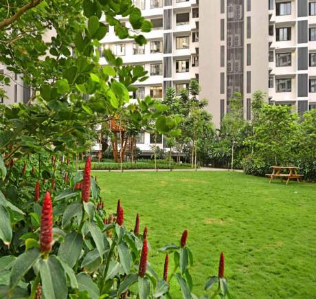 Landscaped Podium Garden