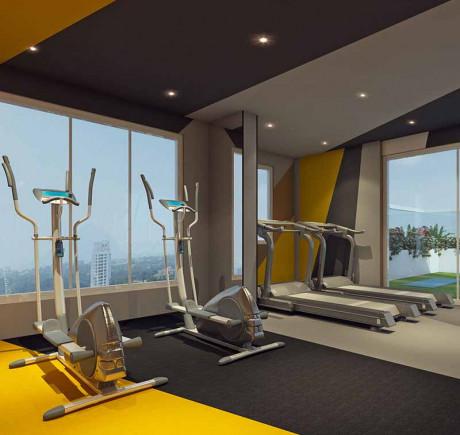 Lifestyle at Rustomjee Yazarina III - Gymnasium