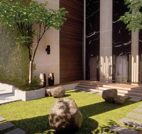 Podium Garden