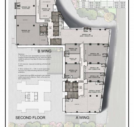 Central Park 2nd floor plan
