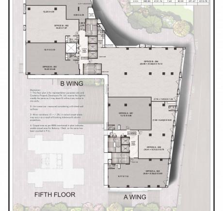 Central Park 5th floor plan