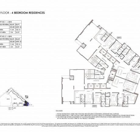 Wing C - 7th Floor - Typical Floor Plan
