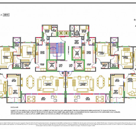 Wing A - Typical Floor Plan