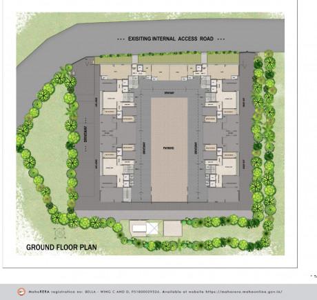 Rustomjee Bella - Ground Floor Plan