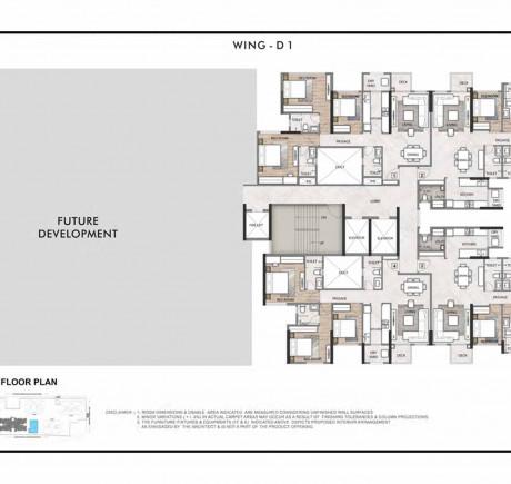 Wing D floor plan