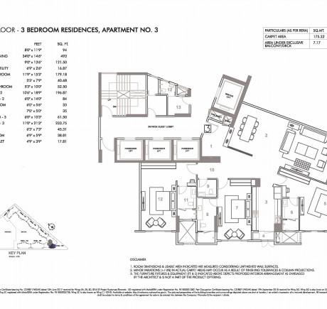 Wing C - Third Floor - Apt 3