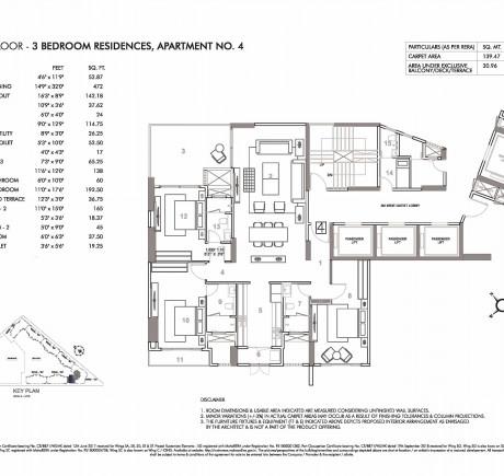 Wing C - Third Floor - Apt 4