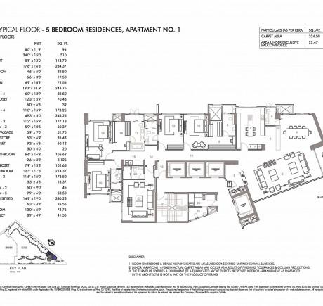 Wing C - 8th to 12th Floor - Apt 1