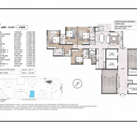 Wing A 4BHK