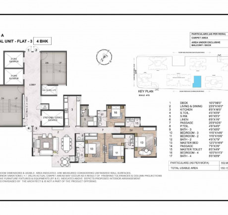 Wing A 4BHK Flat 3