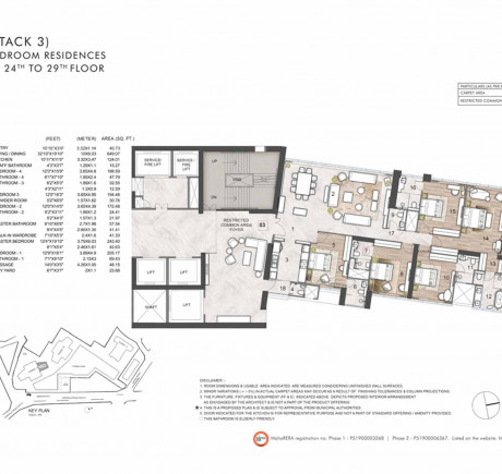 5BHK Tower A - Series 3