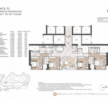 4BHK_Tower A - Series 4