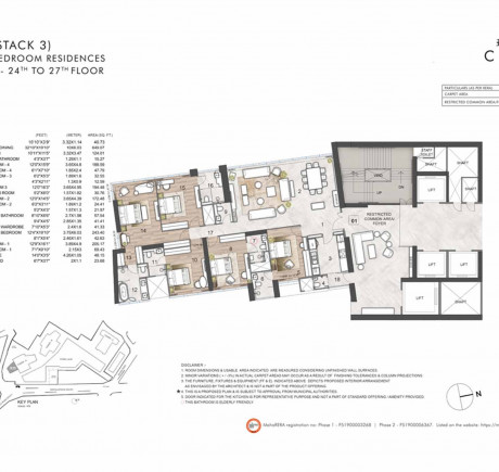 5BHK_Tower A - Series 1