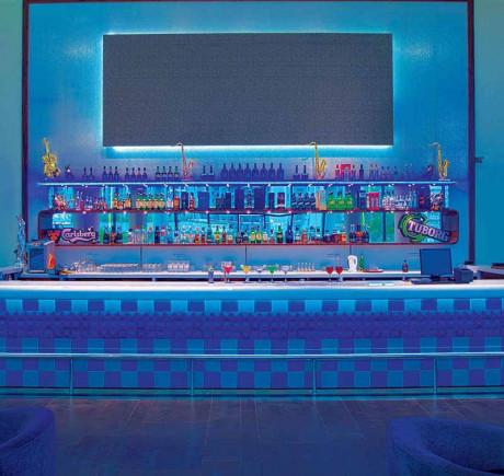 Club One - Blue Bar