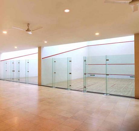 Club One - Squash Court