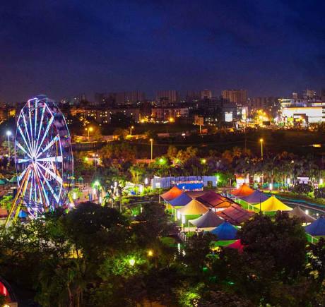 Yazoo Park - Night View