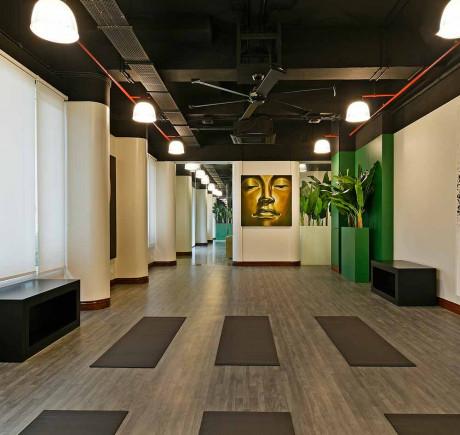 Yoga Hall / Deck